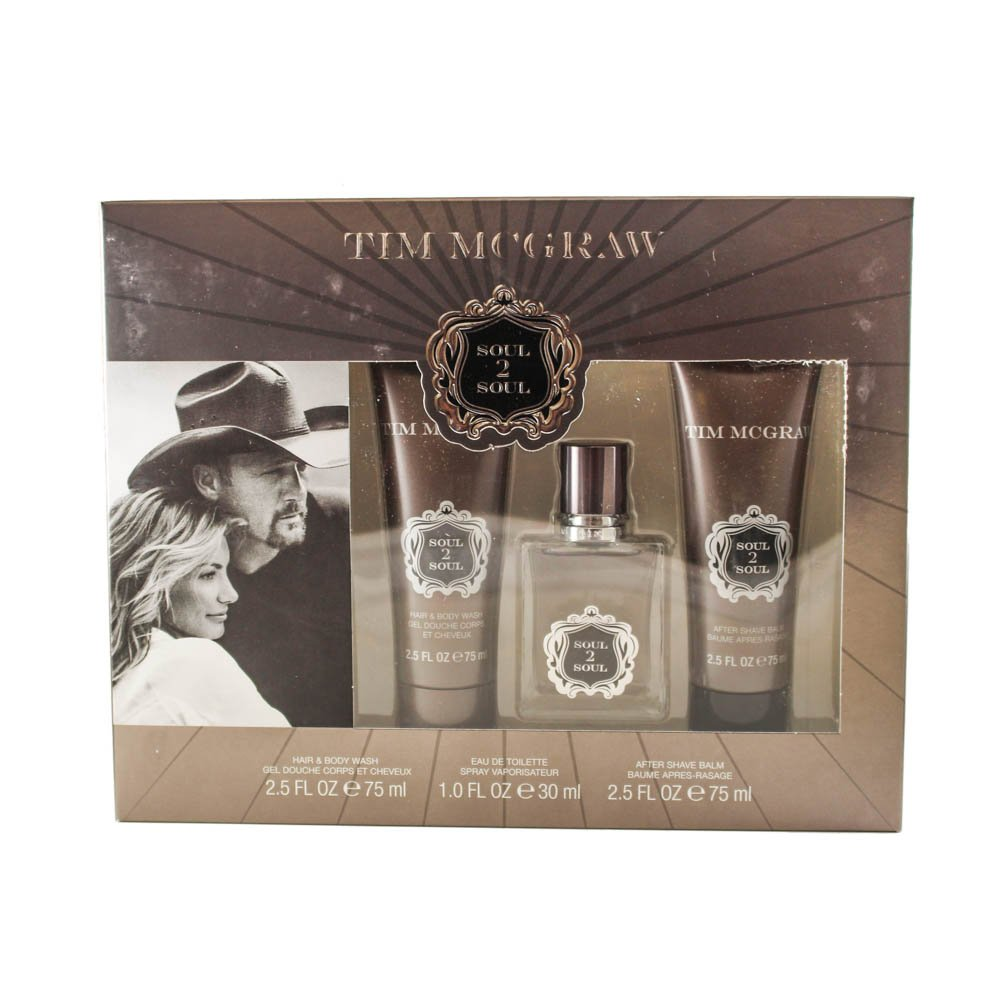 Tim Mcgraw Soul 2 Soul 3 Piece Gift Set for Men
