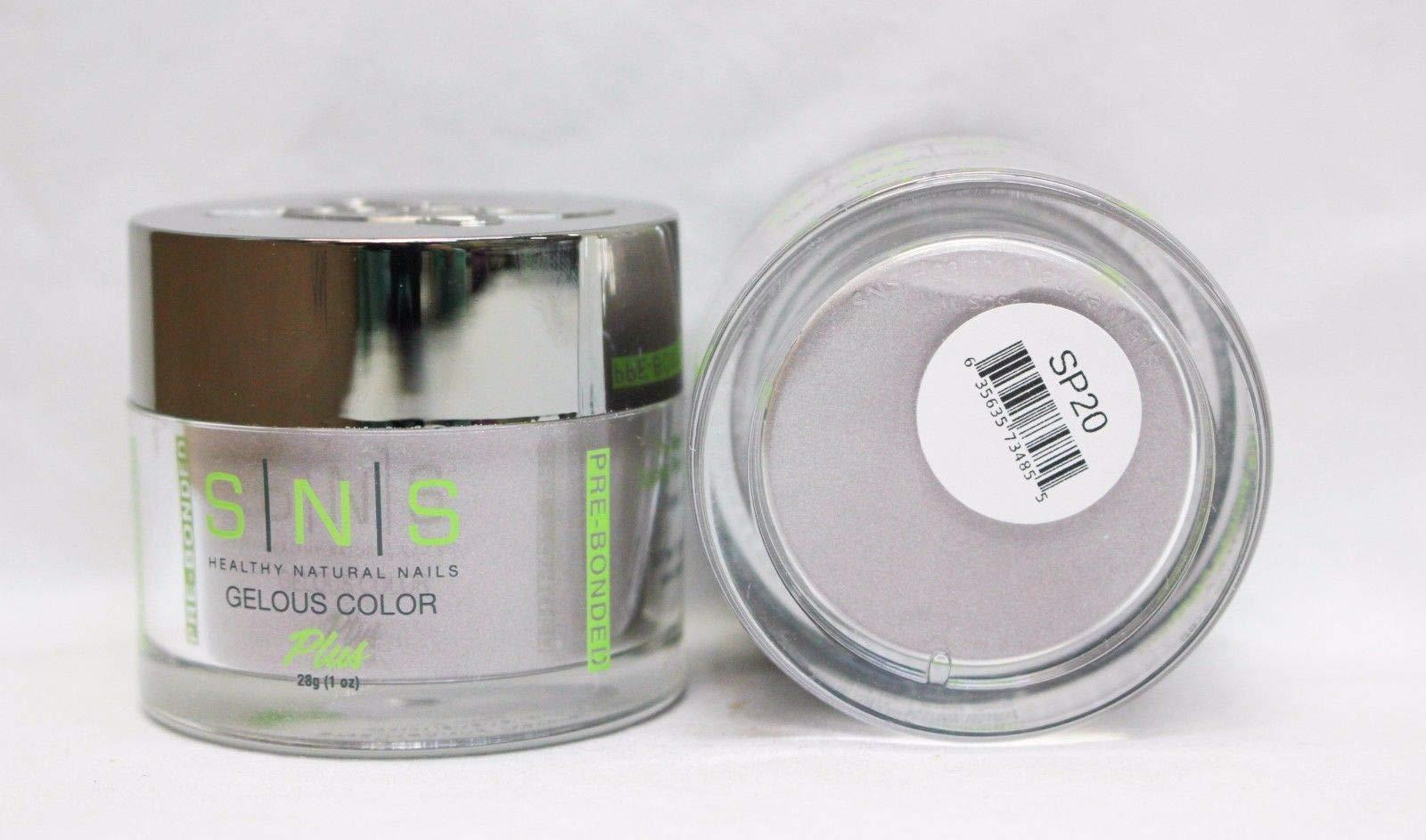 SNS Nails Dipping Powder No Liquid/Primer/UV Light, SP20 by SNS