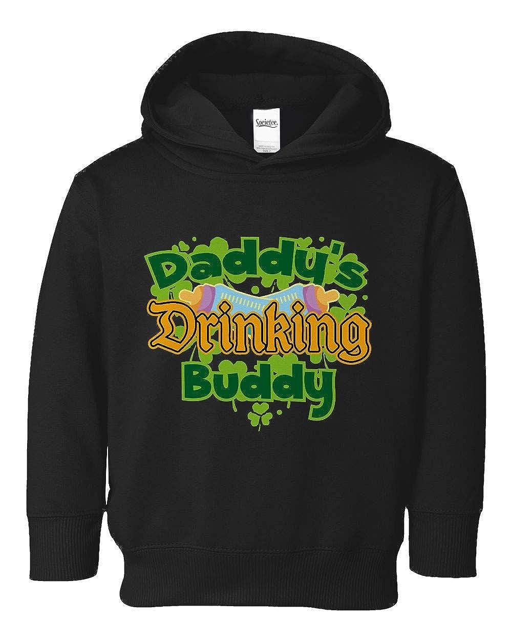 Societee Daddys Drinking Buddy Girls Boys Toddler Hooded Sweatshirt