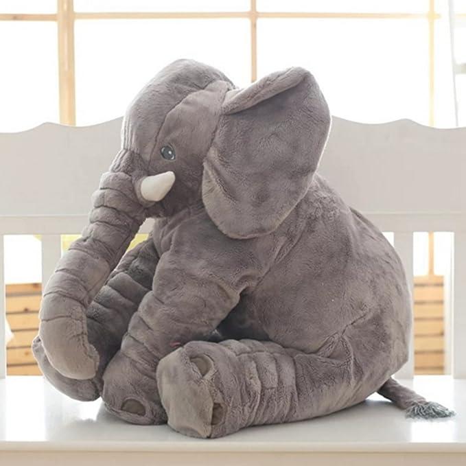 Rosa, 60CM sdtdia Lindo Elefante Juguetes Blandos Animales Almohada rellena Elefante Gris Felpa beb/é Almohada Pals coj/ín de Peluche de Juguete para ni/ños