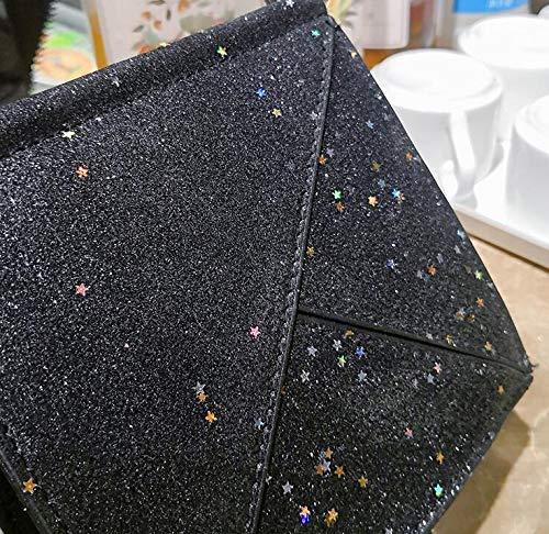 Sacs supérieure Tout Femelle à Diagonale carrés GSHGA chaîne Petits Sac Sac à poignée Couture Simple à Paillettes fourre Main bandoulière UI0Uq