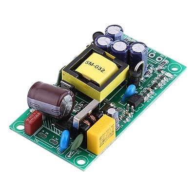AC-DC Módulo aislado de la fuente de alimentación de la conmutación, AC 85-264V / DC 110-370V a DC 24V 600mA / 5V 500mA