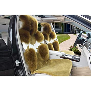 Car Seat Cushion Car Seat Covers Pure Wool Side Winter Wholesale