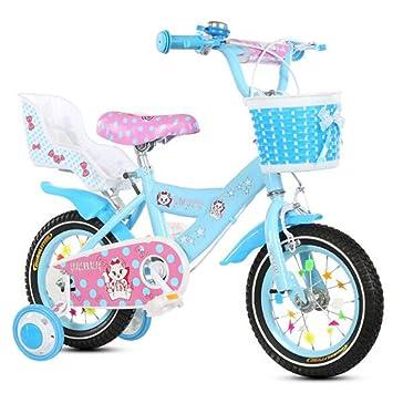 HUALQ Bicicleta para Niños Niña 3-9 Años bebé Carro de bebé ...