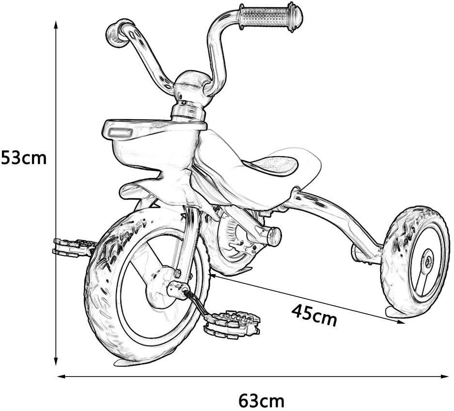 XHSLC Triciclos Triciclo Infantil Plegable Bicicleta para niños ...