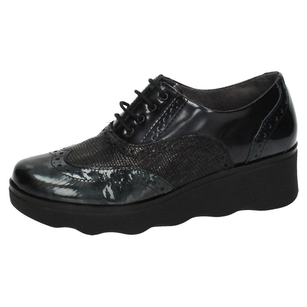 Pitillos 1321 Blucher Pitillos Mujer Zapatos CORDÓN 38 EU Gris