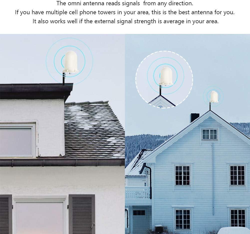 Proutone Repetidor gsm 900MHz Amplificador de Señal Móvil - Obtenga Llamadas de Voz Señal 3G en Su Casa/Oficina