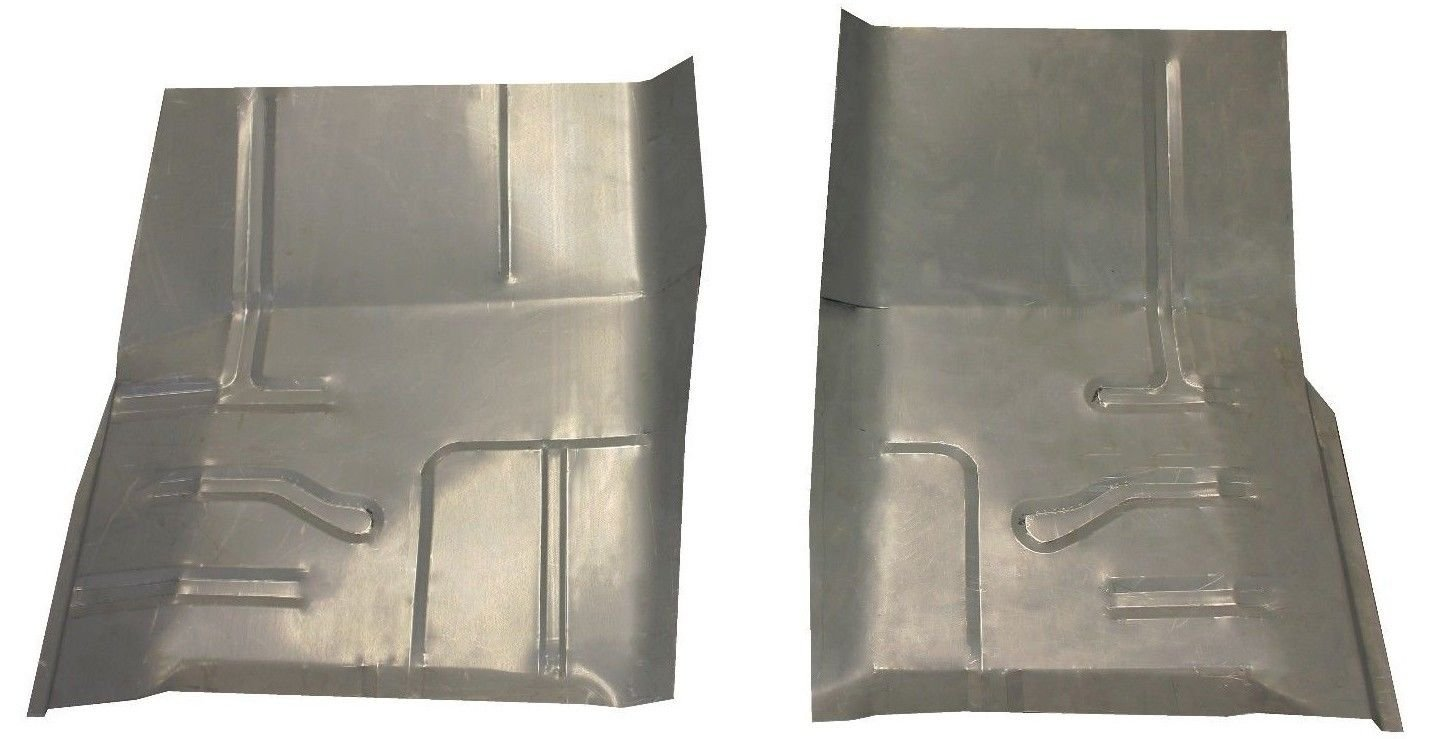 Motor City Sheet Metal - Works With 1980-1998 Ford F150 F250 F350 & 1980-1996 Bronco Floor Pans New Pair!!