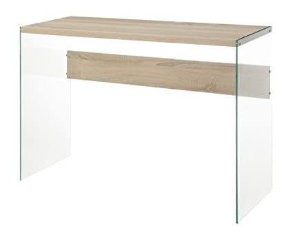 Convenience Concepts Soho Console Table, Weathered White