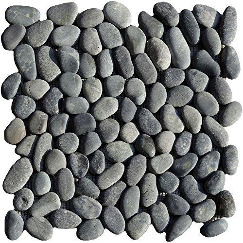 1 malla Rí o Piedras redondo negro Raumdesign Heilbronn