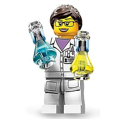 LEGO Minifigures Series 11, Female Scientist: Toys & Games