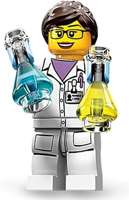 Lego Minifigure SCIENTIST Female Pretty Woman Long Hair NEW
