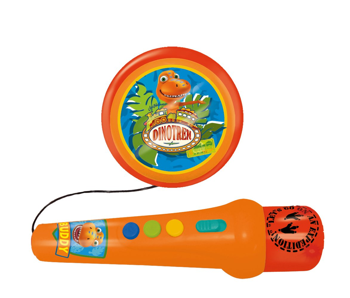 Reig Dinotren Hand Microphone with Amplified Speaker by Reig