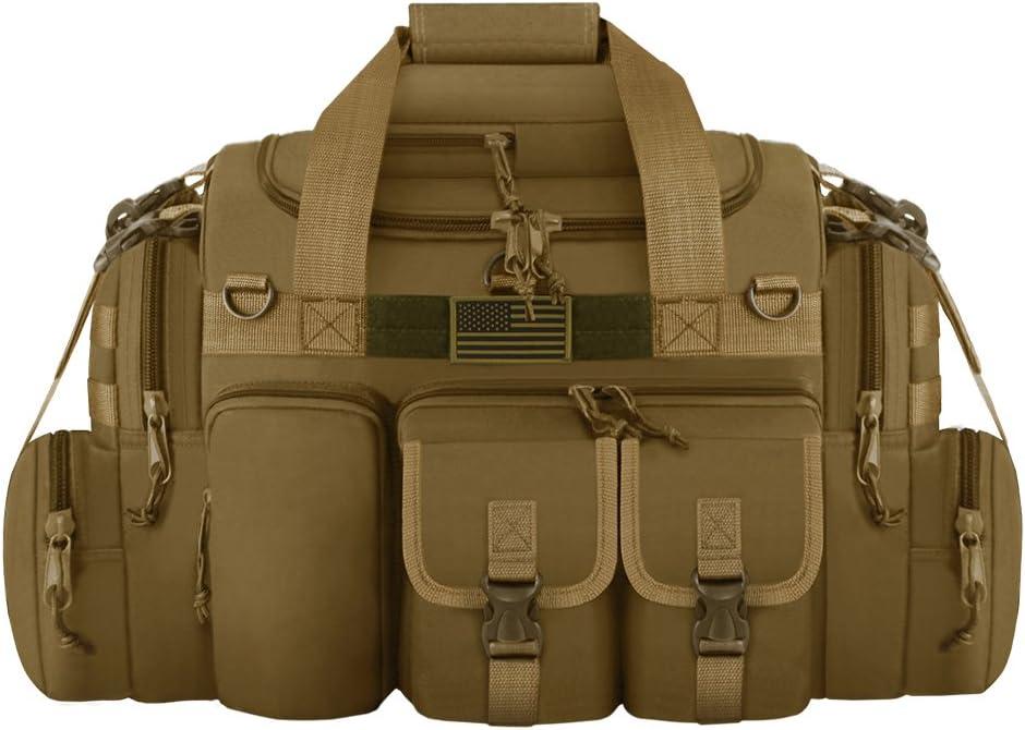 East West U.S.A Tactical Outdoor Multi Pockets Heavy Duty 26 Duffel Bag