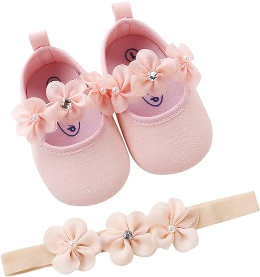 Baby Newborn Girls Flower Sandals Summer Casual Crib Shoes Anti-slip Prewalker