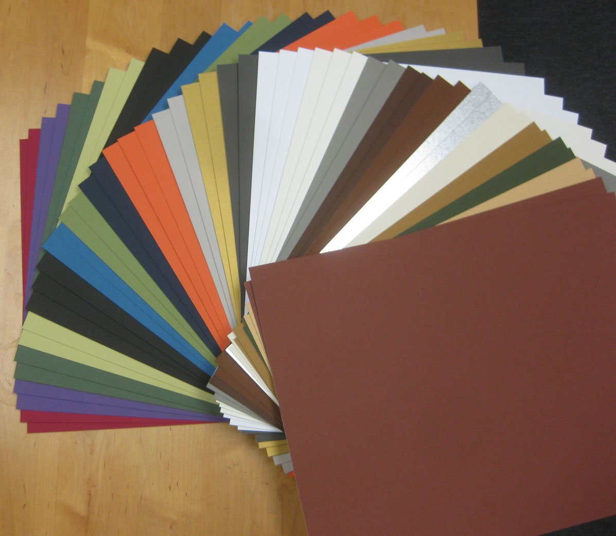 (50) 16x20 Matboard Mat Board Blanks-ASSORTMENT Golden State Art T2S1620MB-MIX50