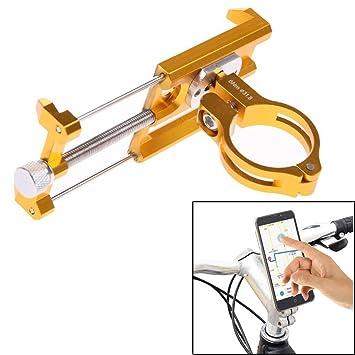 ttnight GUB Universal aleación de bicicleta de montaña bicicleta manillar ajustable funda para teléfono móvil GPS