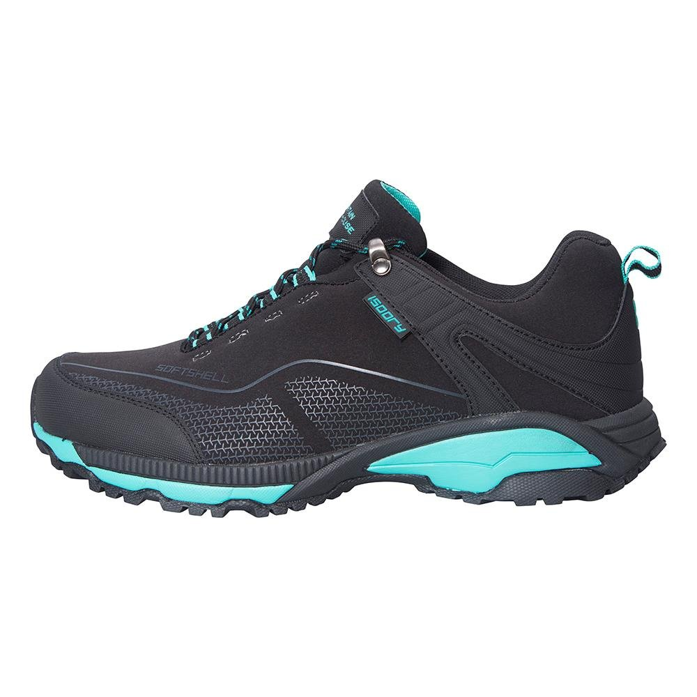 Mountain Warehouse Collie Womens Shoes -Waterproof Ladies All Season Shoes Black 7 M US Women