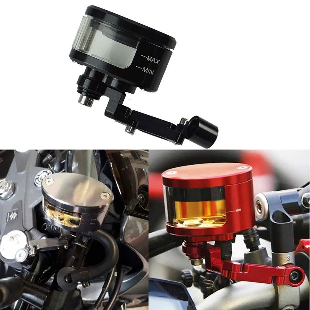 WXCymhy Universal CNC Aleaci/ón de Aluminio Motocicleta Moto Freno Embrague Tanque Cilindro L/íquido Dep/ósito de Aceite Taza para Honda Yamaha Suzuki Accesorios para autom/óviles Accesorios de Motos