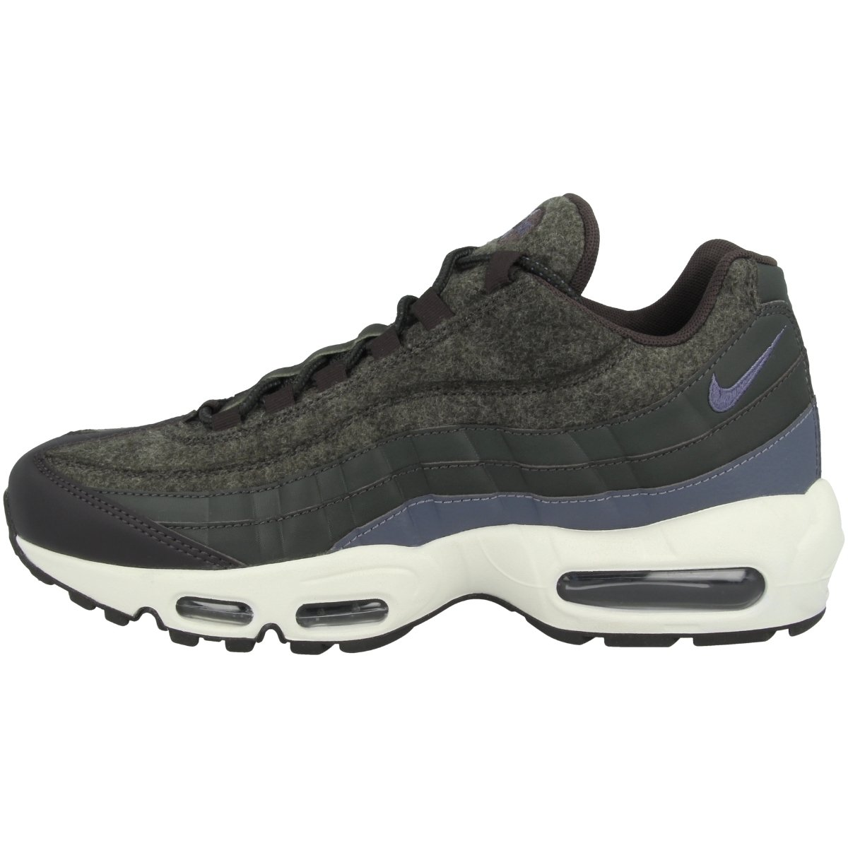Nike Zapatillas Air Max 95 PRM Sequoia/C 40 EU|Sequoia-light Carbon-velvet Brown (538416-300)