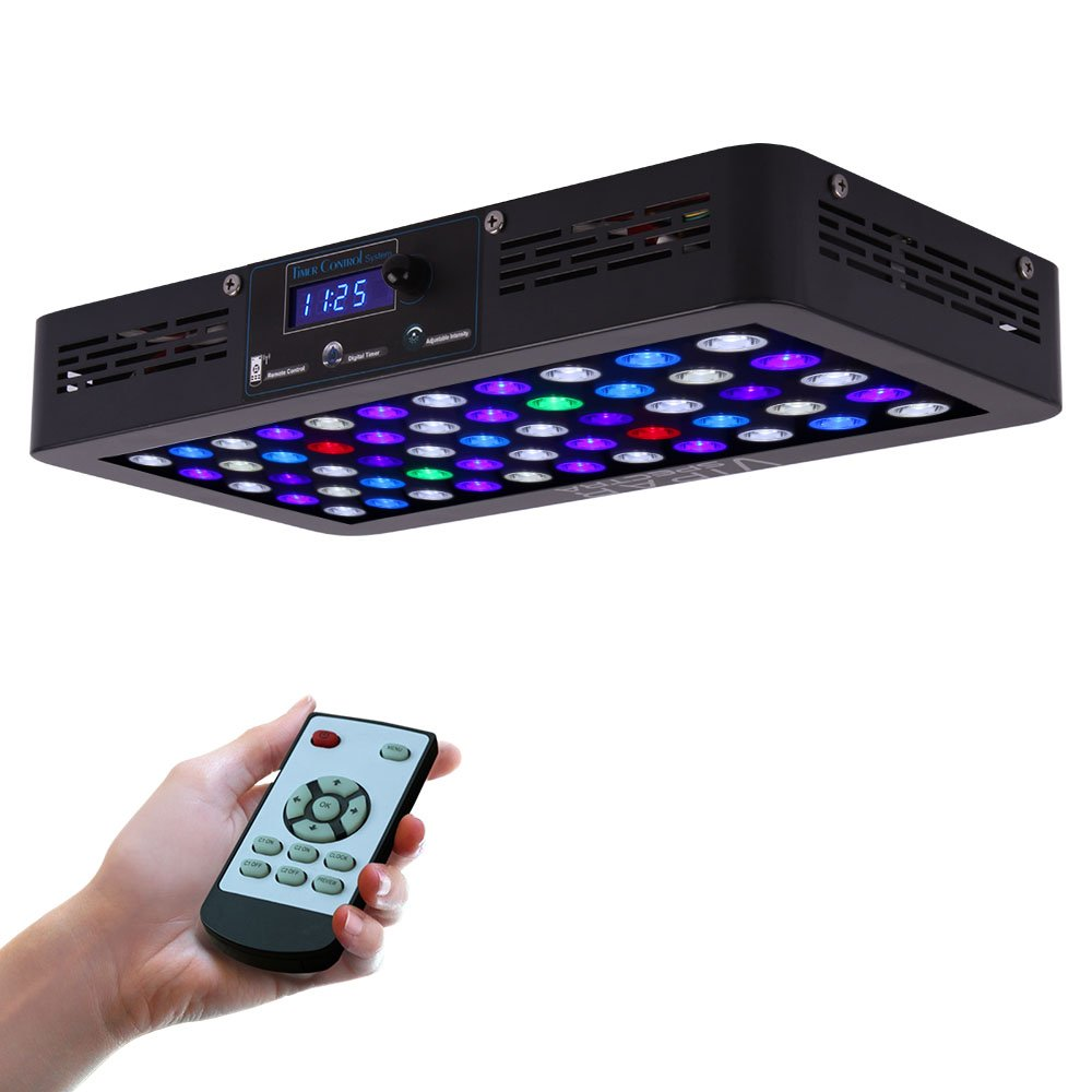 top 5 best led lights for reef tank in 2018 market review by