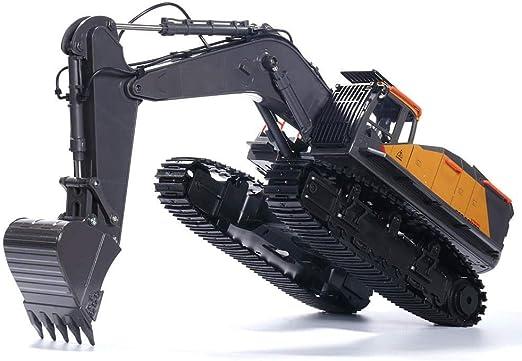 Tbaobei-Baby Modelo de Auto 1592 aleación 1/14 22ch aleación RC Camiones excavadoras excavadoras remotos de Control del vehículo Modelo de Juguete de Regalo de los niños Carros de Juguete: Amazon.es: Hogar