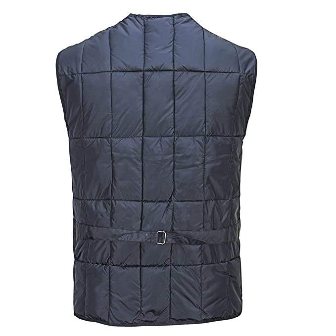 Zhhlinyuan Mens Lightweight Soft Cotton Vest for Fall/Winter Padded  Waistcoat Outerwear: Amazon.co.uk: Clothing