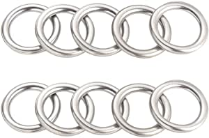 Replacement # 35178-30010 LS430 IS250//350 IS F LS460 M12 Pack of 10pcs Transmission Drain Plug Gasket Engine Oil Crush Washer Seal Rings for Toyota 4Runner Sequoia Tacoma Tundra Lexus GS450H