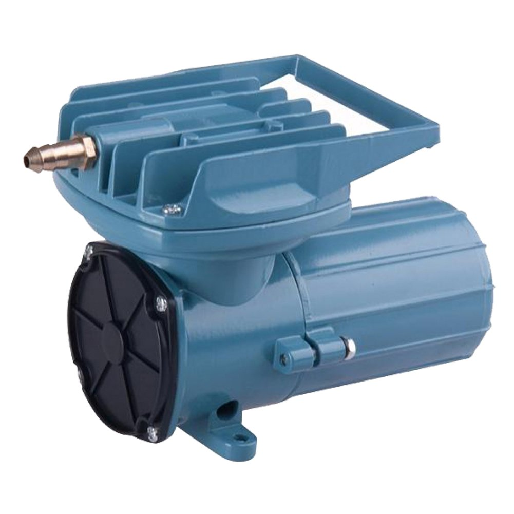DC 12V 80Lpm/Min 60W Aquarium Air Pumps 1268GHP Fish Pond Tanks Aquaculture Hydroponics Portable Air Pump Compressor Aerator Oxygen Supplies