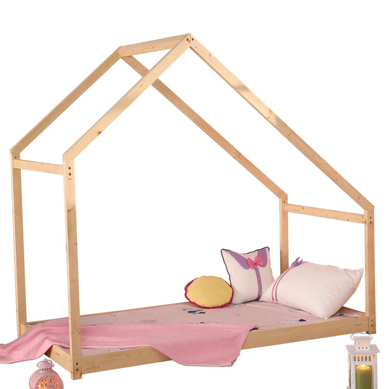 Amazon.com: WALCUT Children House Bed Frame Premium Wood Kid\'s Bed ...