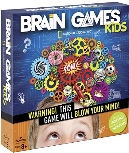 BRAIN GAMES KIDS - Warning! This Game Will Blow Your Mind! (Best Educational Board Games)
