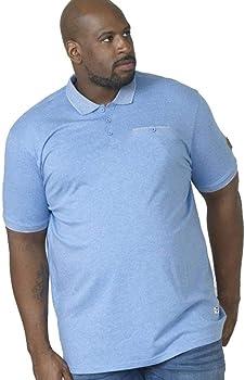 Duke London D555 - Polo - Camisas De Polo - Clásico - Manga Corta - para Hombre Azul Azul Celeste 4XL: Amazon.es: Ropa y accesorios
