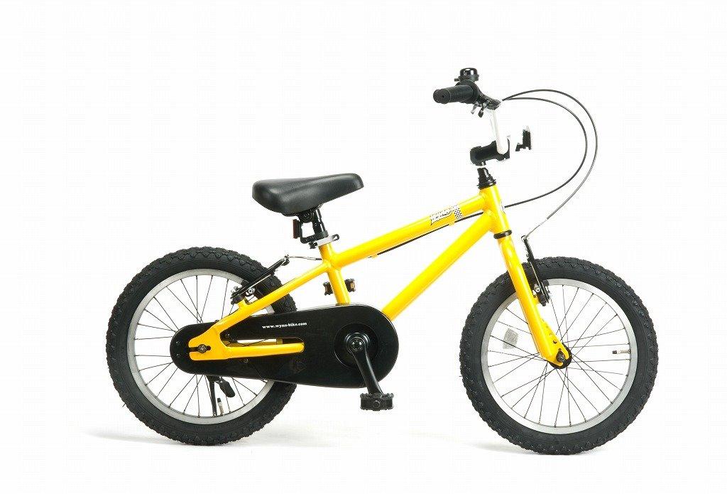 Wynn 16インチ BMXスタイル@28080 16inch 子供用自転車 STRIDER が乗れるようになったら次は (キックスタンドは付属しません) B07C1Q5RNG YELLOW YELLOW