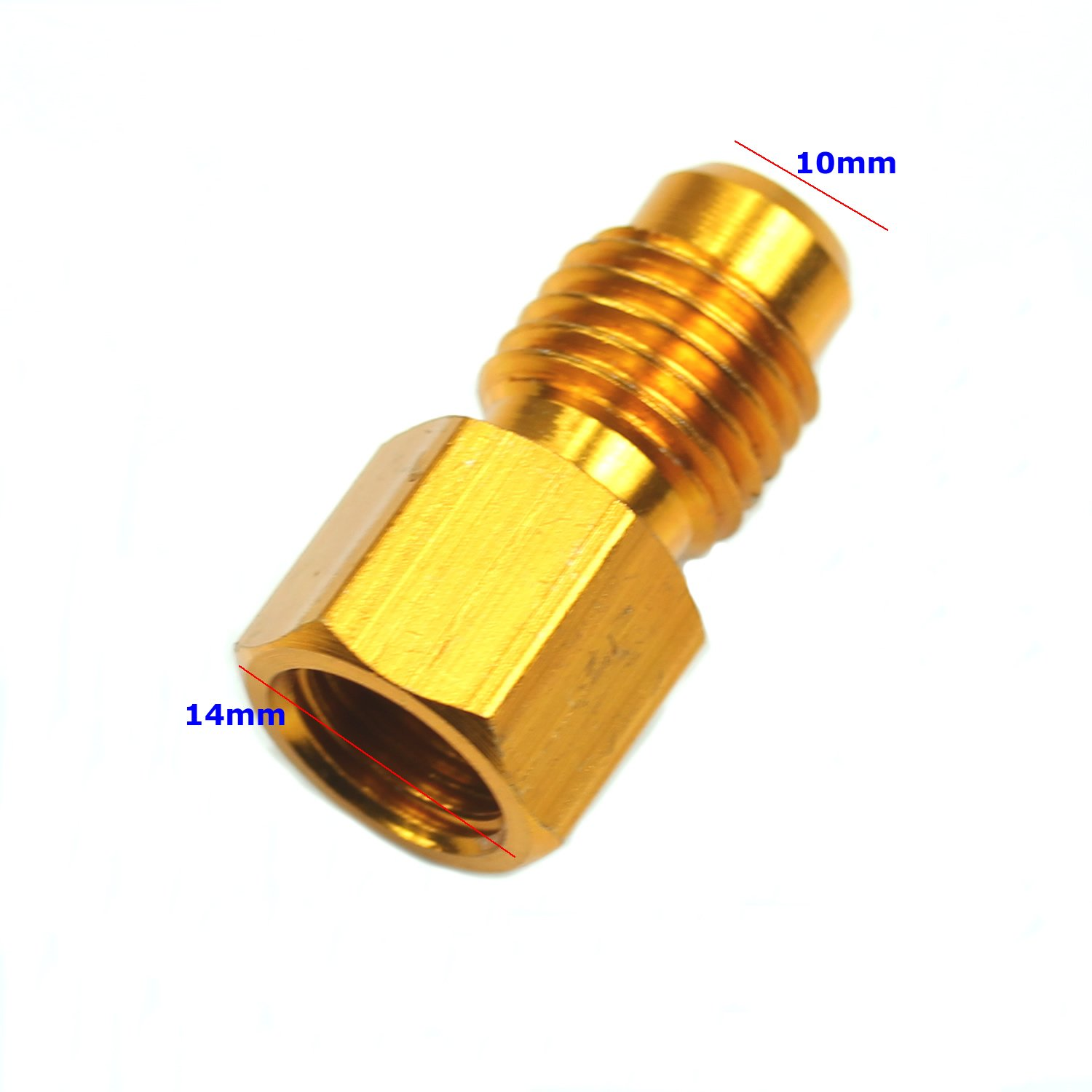 R134 To R12 /& R12 To R134a Brass Heavy Duty Tank Vacuum Pump Adapter Tool Set