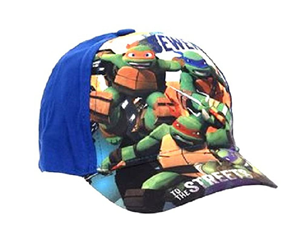 TMNT Boys Kid's Teenage Mutant Ninja Turtles Character Summer Sun Hats Baseball Caps (Sizes 52 cms Ages 3-6, 54 cms Ages 7-10)