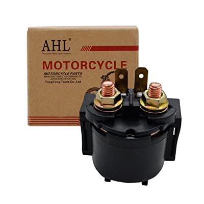 AHL Starter Solenoid Relay for Kawasaki Prairie 360 KVF360 4X4 2003-2012: Automotive