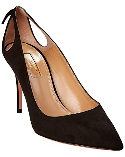 dd7825cef070 Image Unavailable. Image not available for. Color  Aquazzura Forever  Marilyn 85 Suede Pump