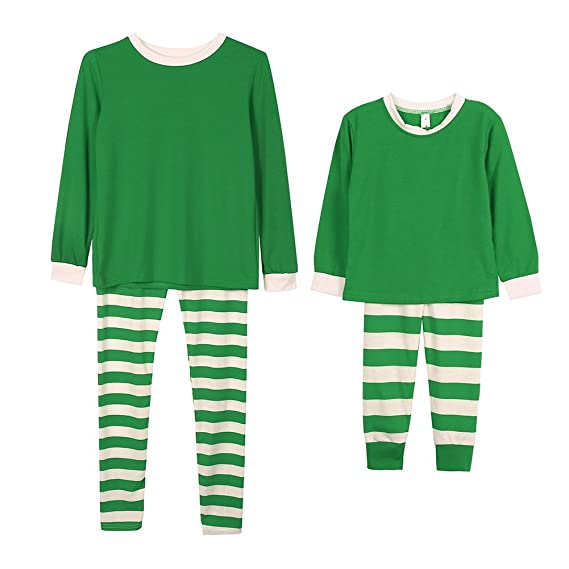 5c15e43b1b ... Sleepwear  Forart Christmas Winter Stripes Family Matching Pajama Set