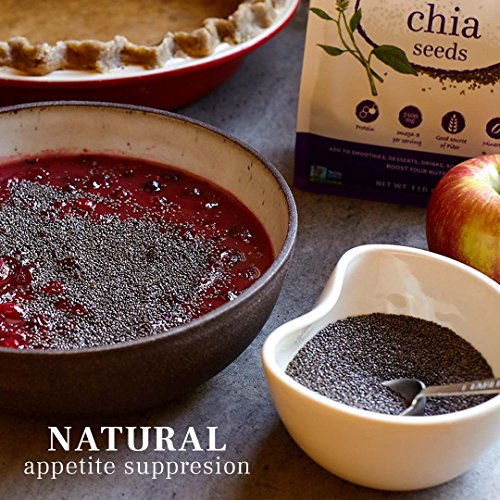 Chosen Foods Organic Chia Seeds, 2 Pound by Chosen Foods (Image #6)