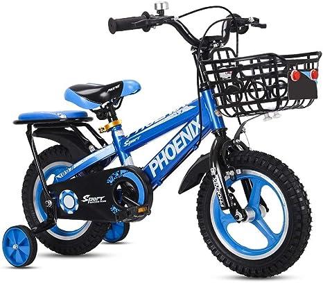Bicicleta de los niños 2-3-4-6-7-8 Años de Edad niños Bicicleta ...