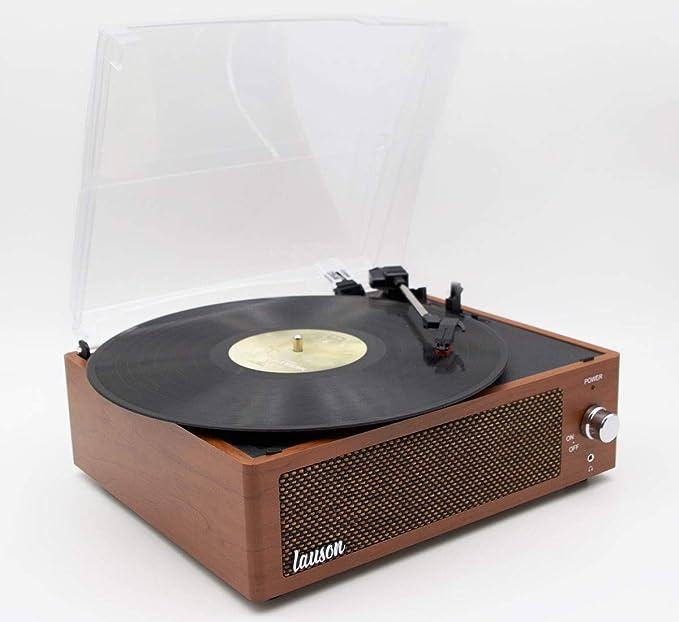 Lauson XN5 Reproductor de Discos de Vinilo con Altavoz de 3 ...