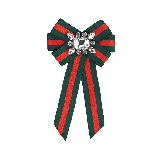 YYB-Tie Corbata Moda Corbata de moño de Rayas Flor de Cuello ...