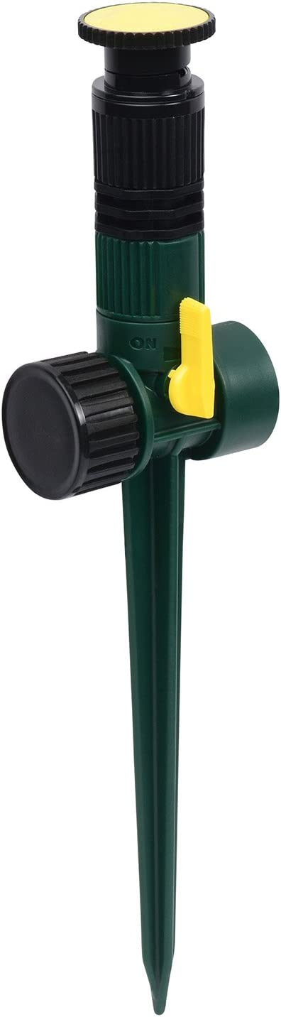 Melnor Multi-Adjustable Lawn Sprinkler - Best For Slim Design