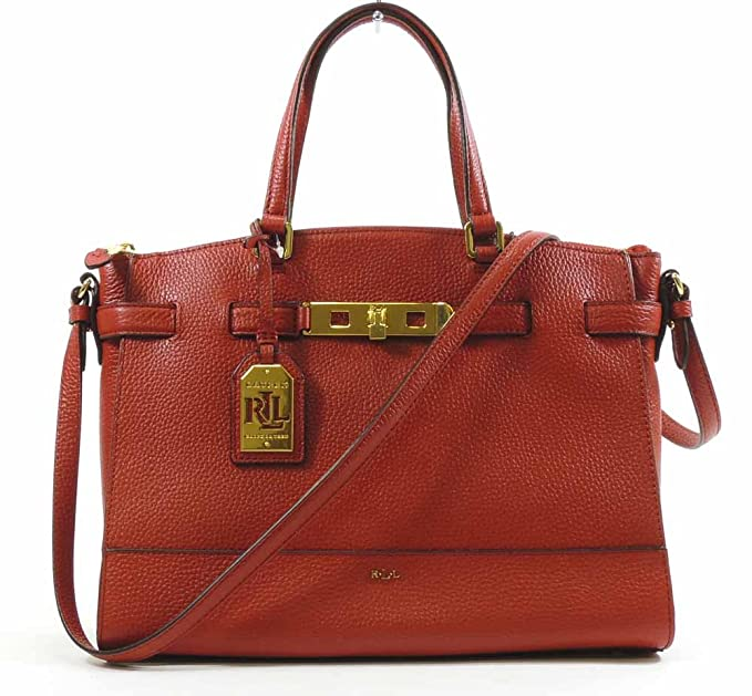 e2e73fb809fe Lauren By Ralph Lauren Women s Handbag Darwin Leather Satchel (Fall ...