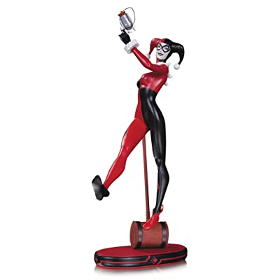 DC Collectibles Comics Cover Girls Harley Quinn Statue: Toys & Games