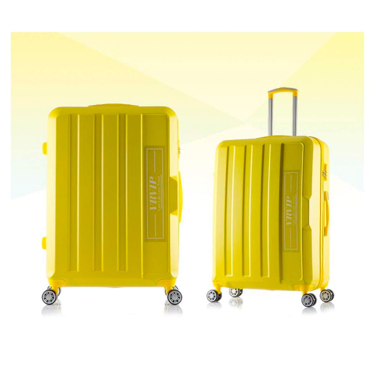 Carrying Luggage Color : Yellow, Size : 26 Simple Huijunwenti Hard Rotating Luggage Best Gift Black The Latest Style Travel Organizer 22 Inches Trolley Case