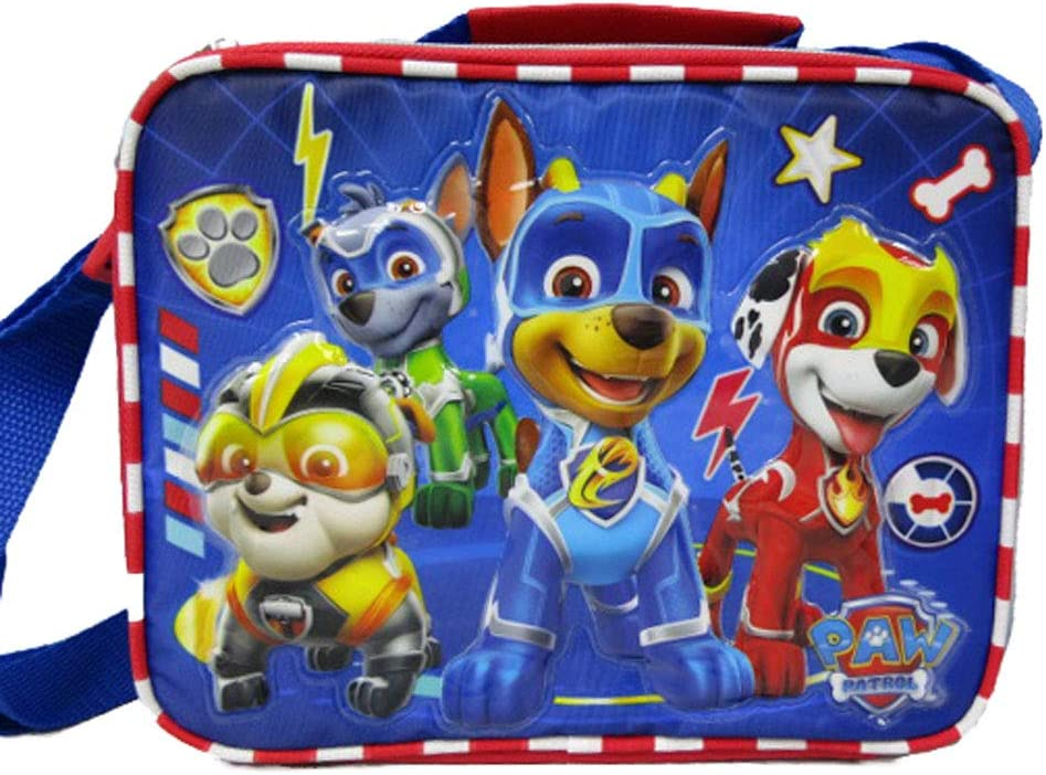 Paw Patrol Pup Power Lunch Bag with Adjustable Strap AuthenticBrand New.