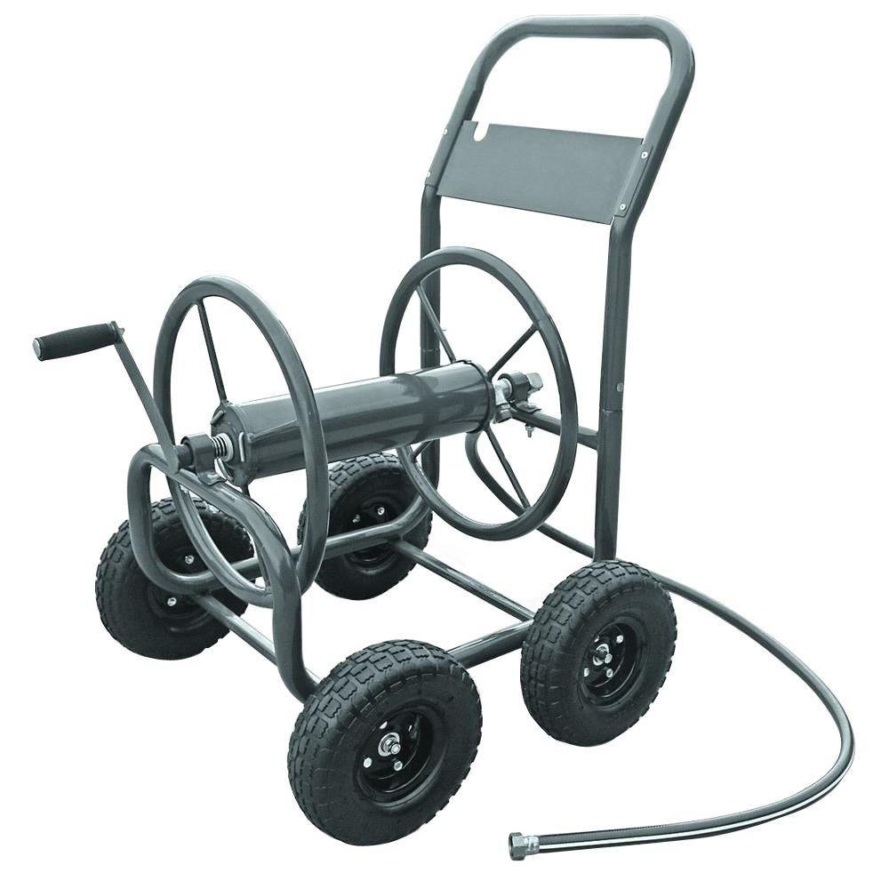 Liberty Garden Products 4-Wheel Hose Cart Model 840
