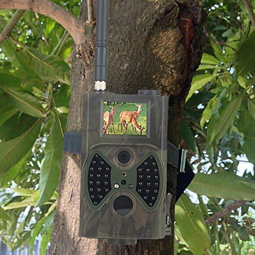 angju HC-300M - Antena para cámara de caza de exterior (5 MP, TFTIR, Cam Digital Trail), color CMOS IP54