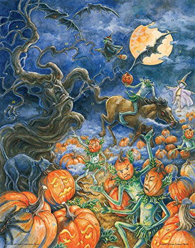 The Headless Pumpkin Halloween Countdown Calendar]()